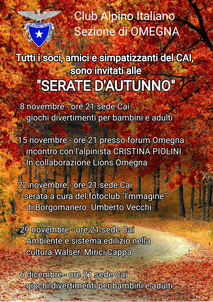 SERATE D'AUTUNNO